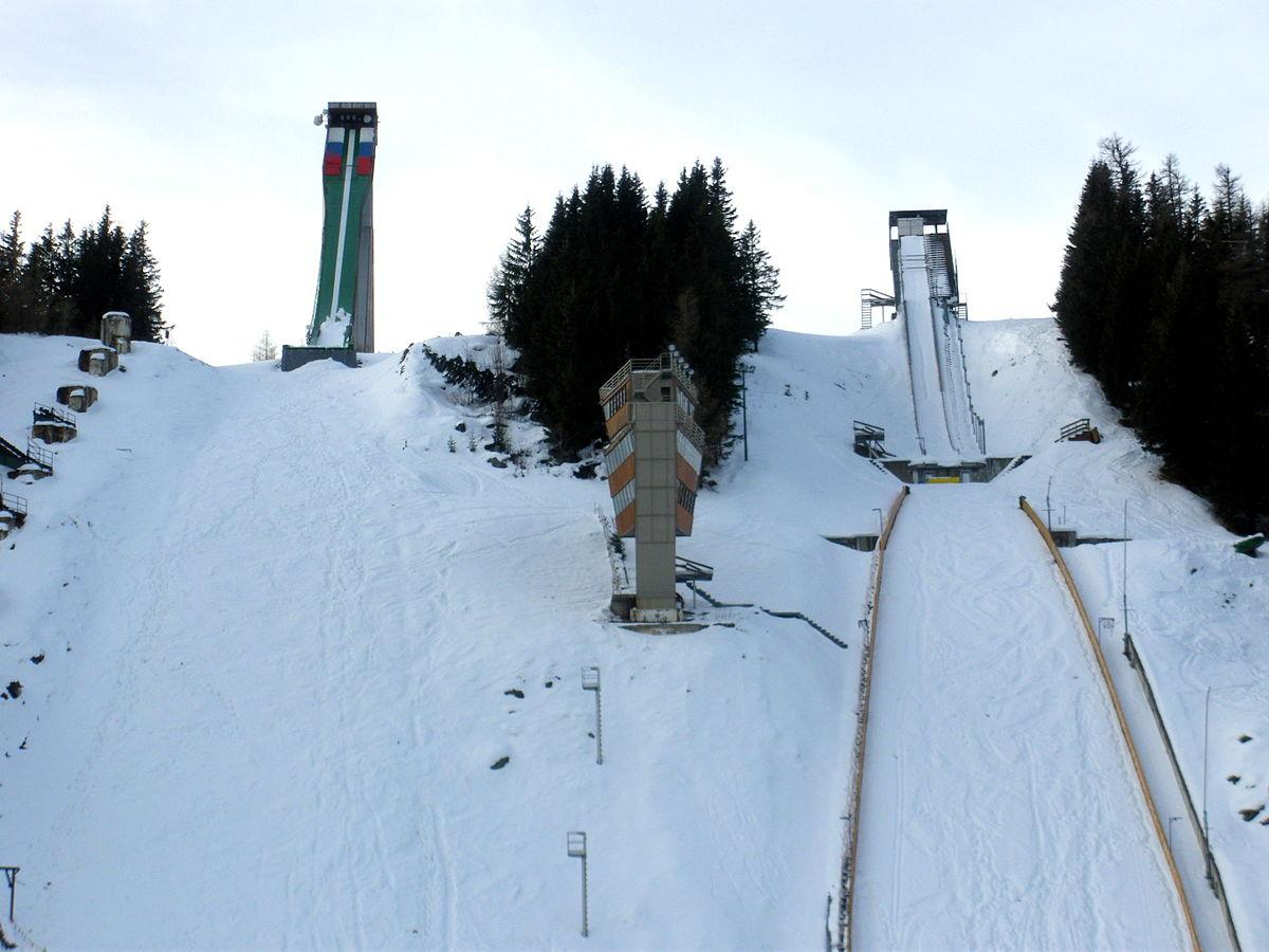 Schi-Sprungschanzen zur Nordischen Schi-Weltmeisterschaft 1970 in Štrbské Pleso