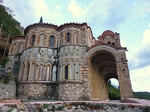 Mystras - Pantanassa Monastery detail