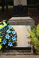 Братська могила радянських воїнів, партизан та Героя Радянського Союзу Г. М. Шевченка...JPG
