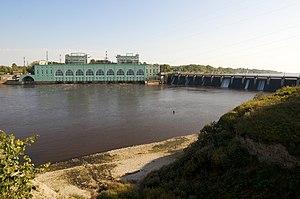 Volkhov - The dam of the Volkhov Hydroelectric Station