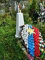 Волховской р-н, Старая Ладога, воинская могила на кладбище.jpg