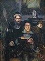 Врубель - Гамлет и Офелия (1884).jpg