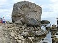 """Курортное. """"Мы просто люди"""" - надпись на камне. 12-08-2009г. - panoramio.jpg"""