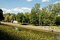 Менск - від на Сьвіслач і парк імя Горкага з вуліцы Купалы.JPG