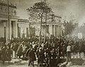 Митинг по поводу пуска первой ватержакетной печи комбината Североникель 8.10.1938.JPG