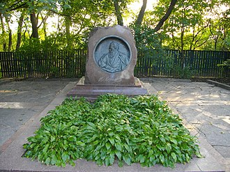 Vladimir Korolenko - Korolenko's grave in Poltava