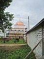 Надвратная церковь Спаса Преображения и ограда Лужецкого монастыря.jpg