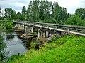 Олонец, Соборный мост (через Мегрегу на о.Мариам), вид 1.jpg