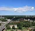 Рига (Латвия) Офисный центр Европа - вид на Межапарк - panoramio.jpg