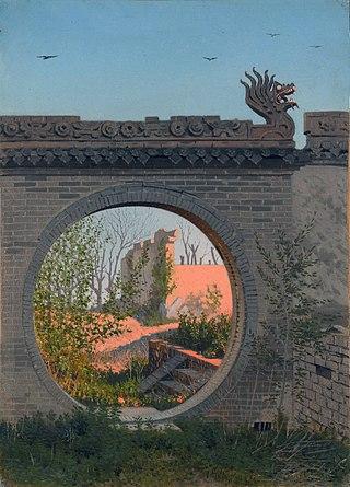 Садовая калитка в Чугучаке, 1869-1870