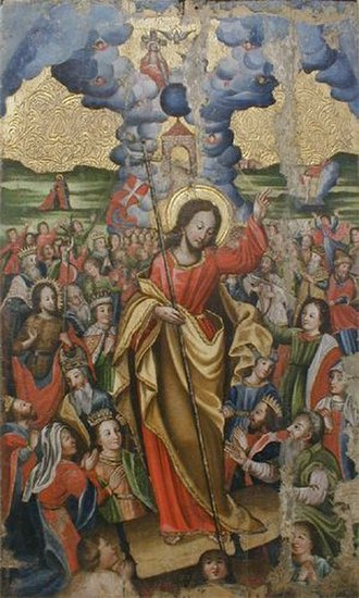 Eastertide - An icon of the Resurrection of Jesus Christ, which is celebrated throughout Eastertide