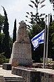האריה השואג - אנדרטה - בית הקברות תל חי - נפת צפת והגולן (7).JPG
