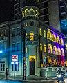 """מלון בן נחום בקרן אלנבי שד""""ר. צילום בלילה לבן. תל אביב.jpg"""