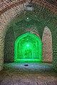 عکاسی در شب از کاروانسرای خشتی گچی دیر گچین، بزرگترین کاروانسرای ایرانی با قدمت ساسانی، سلجوقی و صفوی Deir-e Gachin 24.jpg