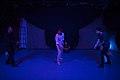 نمایش هملت در قم به کارگردانی علی علوی و گروه تئاتر گاراژ به روی صحنه رفت hamlet Garage Theater qom 18.jpg