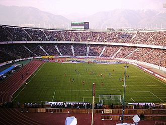 Football in Iran - Azadi Stadium during the Tehran derby.