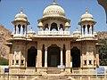 गैटोर, जयपुर में सवाई जयसिंह का स्मारक.JPG