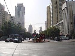 乌鲁木齐.光明路 China Xinjiang Urumqi Welcome you to tour the - panoramio.jpg