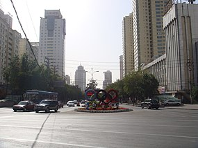 乌鲁木齐.光明路 China Xinjiang Urumqi Welcome you to tour the - panoramio.jpg