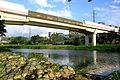 士林站芝山站淡水線高架橋FUJI5033.JPG