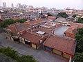 泉州華僑大厦の客室から見た市内.jpg