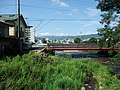 諏訪大社下社春宮から見た諏訪湖方面 - panoramio.jpg