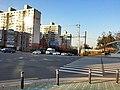 인천시청역 7번 출입구 앞에서 문화로 북쪽방향.jpg