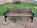 -2020-12-02 Longshot of Peter Lamb dedicated bench, The Promenade, Mundesley.JPG