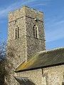 -2021-02-04 Bell tower, Saint Martin's parish church, Overstrand, Norfolk (1).JPG