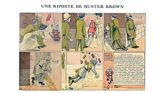 Riposte - A riposte from Buster Brown