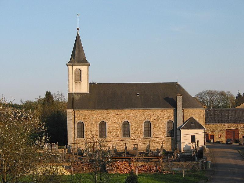Transinne (Belgium), the Saint Martin's church (1844-1845).