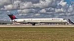02092018 Delta Airlines MD88 N991DL KMIA NASEDIT2 (43567718414).jpg