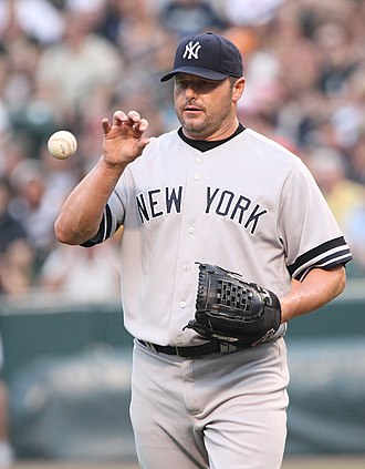 Commissioner's Historic Achievement Award - Image: 062707 267 Roger Clemens