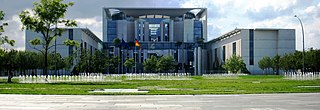 Federal Chancellery (Berlin) building in Berlin in which the German chancellery resides