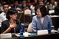 08.11 總統出席「2017CALD亞洲自由民主聯盟-女權高峰會」,與亞洲自由民主聯盟女權高峰會主席Jayanthi Balaguru相談甚歡 (36357067581).jpg