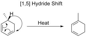 [1,5] Hydride shift in a cyclic system