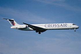 102bh - Crossair MD-82; HB-INR@ZRH;09.08.2000 (5066582979).jpg