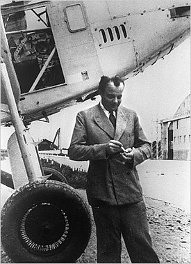Antoine de Saint Exupéry's image from wikipedia