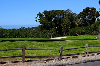 George C. Thomas Jr. - Image: 11th hole at Palos Verdes Golf Club
