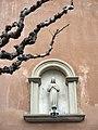 133 Església de Sant Llorenç (Llorenç del Penedès), fornícula de la Immaculada.JPG