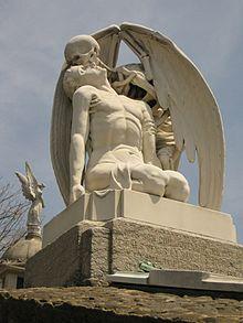 134 Cementiri del Poblenou, el Petó de la Mort.jpg
