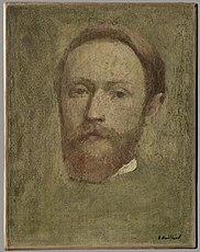 Autoportrait, étude de visage