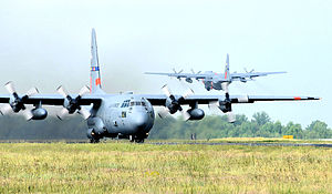 145th Airlift Wing - MAFFS Training