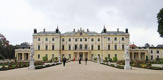 Branicki (Gryf) - Image: 150913 Branicki Palace in Białystok 09