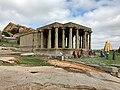 15th century Kadalekalu Ganesha Temple, Hampi Hindu monuments Karnataka.jpg