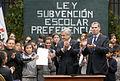18-10-2011 Promulgación Ley Subvención Escolar Preferencial (6335431926).jpg