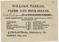 1815 Parker bookseller Boston.png