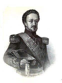 1853-1860, Blasón de España, libro de oro de su nobleza, parte primera, casa real y Grandeza de España, Pedro Téllez Girón (cropped).jpg