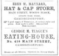 1863 adverts Main Street Cambridge Massachusetts.png