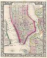 1864 Mitchell Map of New York City, New York - Geographicus - NewYorkCity-mitchell-1864.jpg